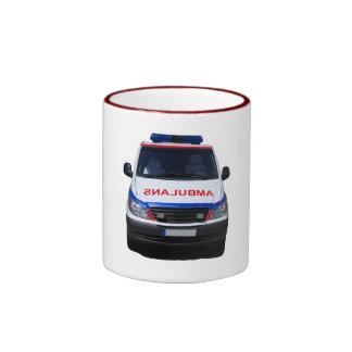 ambulans ringer coffee mug