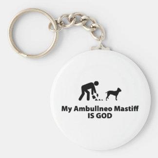 Ambullneo Mastiff Keychain