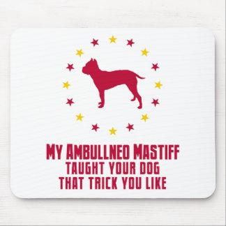 Ambullneo Mastiff Mouse Pad