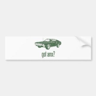 AMC 1968 AMX PEGATINA DE PARACHOQUE