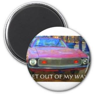 AMC 1974 AMX MUSCLE CARS 2 INCH ROUND MAGNET