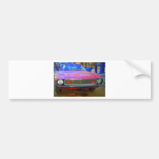 AMC 1974 AMX MUSCLE CARS BUMPER STICKER