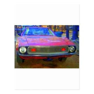 AMC 1974 AMX MUSCLE CARS POSTCARD