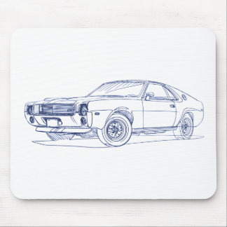 AMC AMX 390 1969 MOUSE PAD
