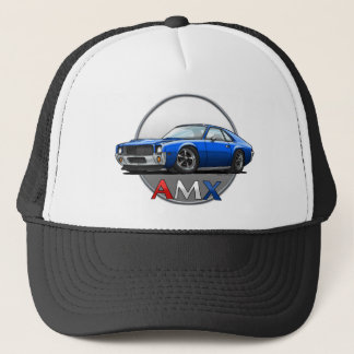 AMC_AMX_blue Trucker Hat