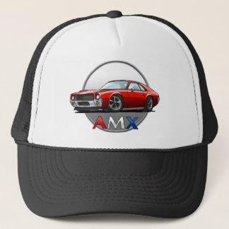 AMC_AMX_red Trucker Hat