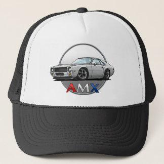 AMC_AMX_white Trucker Hat