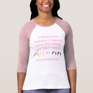 AMC DIFFAbility T-shirts