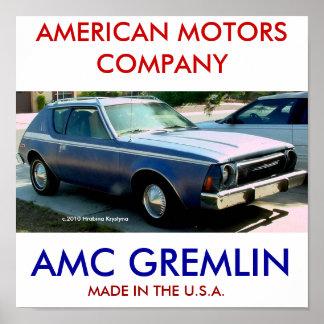 AMC  GREMLIN POSTER
