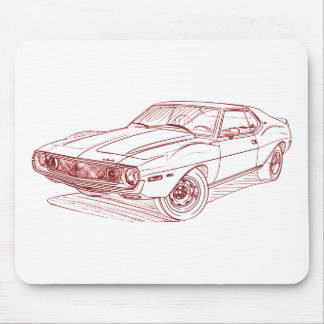 AMC Javelin AMX 1972 Mouse Pad
