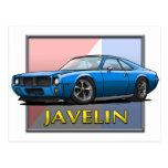 AMC_Javelin_Blue Postales
