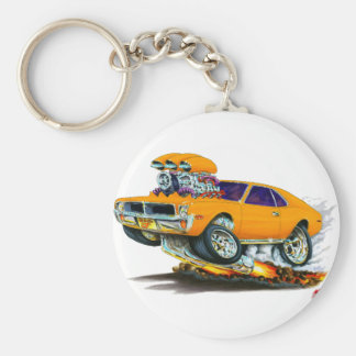 AMC Javelin Orange Car Keychain