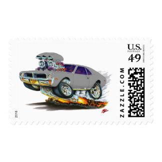 AMC Javelin Silver car Stamps