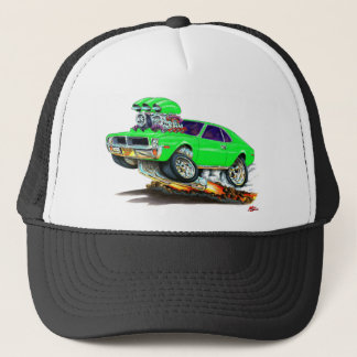 AMC Javelin Sublime Green Car Trucker Hat
