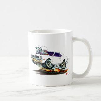 AMC Javelin White Car Coffee Mug