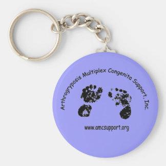 AMCSI Arthrogryposis Keychain Blue