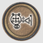 amdusias round stickers