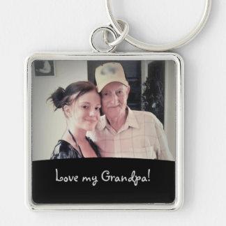 Ame a mi abuelo: Represente el llavero