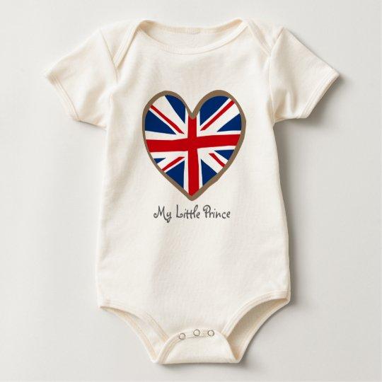 Ame a mi bebé adaptable del bebé británico de una body para bebé