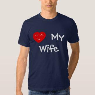 Ame a mi esposa camisas