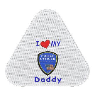 Ame a mi papá de la policía altavoz