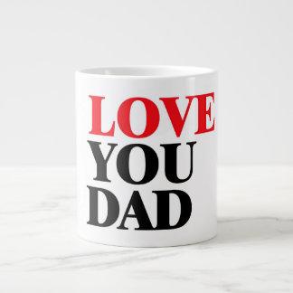 Ame a mi papá taza grande