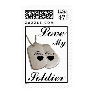 Ame a mi soldado sellos