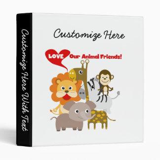 Ame a nuestros amigos animales