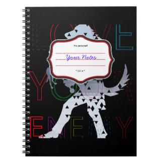 Ame a su enemigo cuaderno