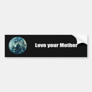Ame a su madre etiqueta de parachoque