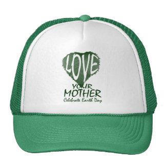 Ame a su madre gorras de camionero