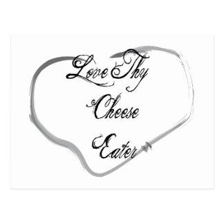 Ame a Thy comedor del queso Postal