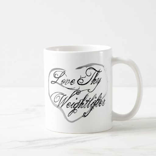 Ame a Thy Weightlifter Taza