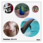 Ame a todas las criaturas 5 etiquetas de la pared