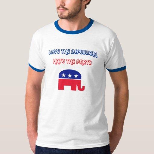 Ame al republicano, odie el fiesta playera