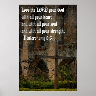 Ame al SEÑOR, su dios Poster