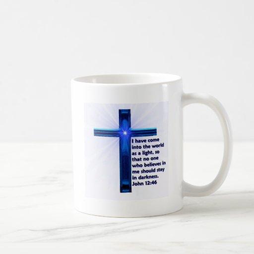 Ame al señor tazas de café