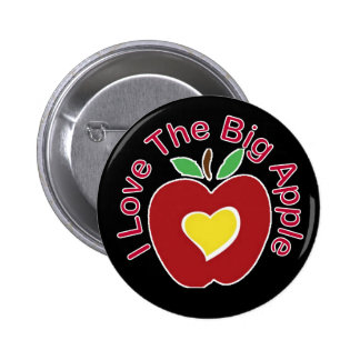 Ame Apple grande Pin Redondo De 2 Pulgadas