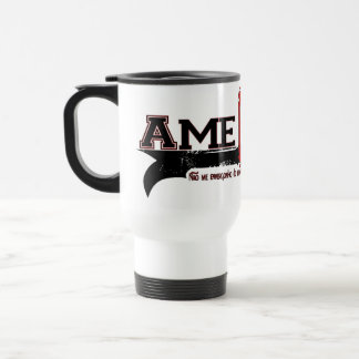 Ame Cristo (Love Christ in Portuges) 15 Oz Stainless Steel Travel Mug