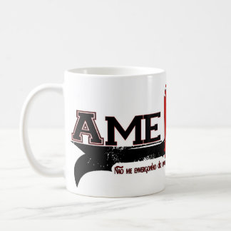 Ame Cristo (Love Christ in Portuges) Classic White Coffee Mug