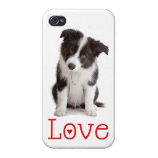Ame el caso/la cubierta del iPhone 4 del perro de  iPhone 4 Cárcasas