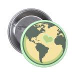 Ame el Día de la Tierra del planeta Pin