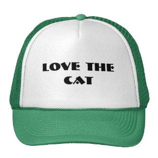 Ame el gato gorra