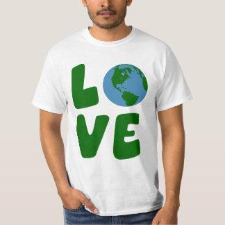Ame el planeta de la madre tierra polera