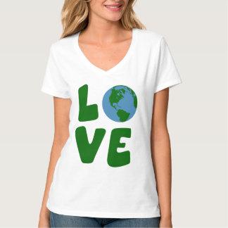Ame el planeta de la madre tierra poleras