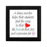 Ame enseñar a danza caja de joyas