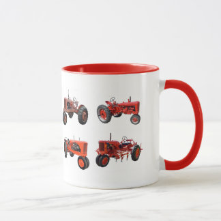 Ame esos tractores rojos viejos
