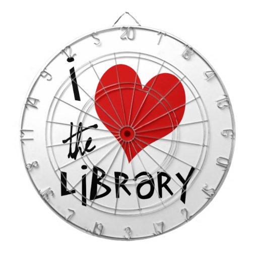 Ame la biblioteca tablero dardos