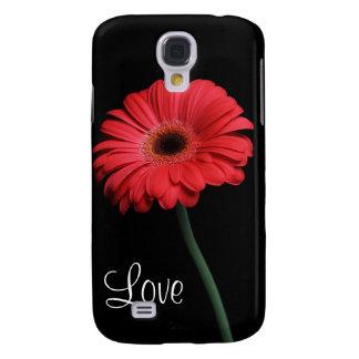Ame la caja roja del iPhone 3 de la flor de la mar
