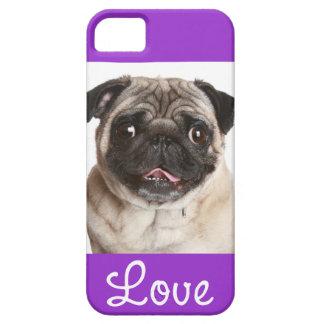Ame la cubierta púrpura del caso del iPhone 5 del Funda Para iPhone 5 Barely There